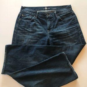 7 for all Mankind Austyn straight leg jeans 33